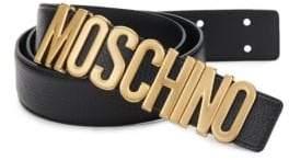 Moschino Classic Leather Belt