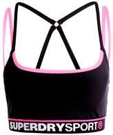 Superdry DASH Sports bra black/white