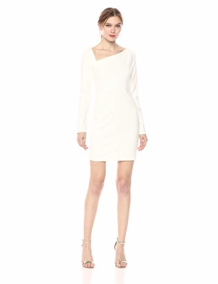 LIKELY Women's Romeo Long Sleeve Mini Cocktail Dress