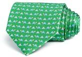 Salvatore Ferragamo Turtle Frog Lily Pad Classic Tie