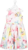 Simonetta floral print dress - kids - Polyester - 4 yrs