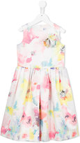 Simonetta floral print dress - kids - Polyester - 6 yrs