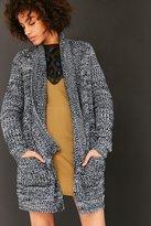 BDG Ava Cozy Waffle Knit Cardigan