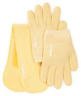 Pure Code Moisturizing Gel Gloves & Neck Wrap Gift Set - Yellow