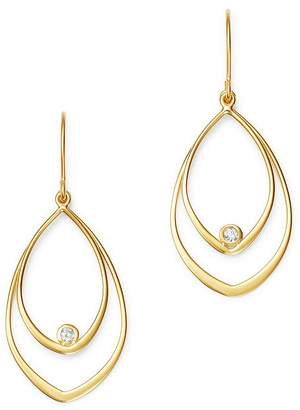 Bloomingdale's Diamond Double Teardrop Earrings in 14K Yellow Gold - 100% Exclusive