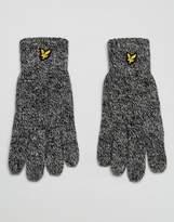 Lyle & Scott Logo Glove In Black