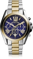 Michael Kors Bradshaw Two Tone Stainless Steel Women's Watch