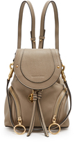See by Chloe Olga grained-leather backpack