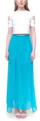 Aubert Design Blue Janis Skirt