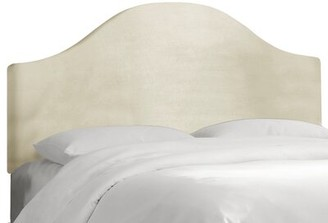 Alcott Hill Mccree Upholstered Panel Headboard Size: Twin, Color: Regal Antique White