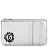 MM6 MAISON MARGIELA logo patch zip purse