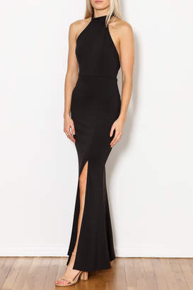 Minuet Heidi Front Slit Dress