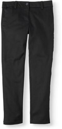 Wonder Nation Girls School Uniform Stretch Twill Skinny Pants, Sizes 4-16 & Plus