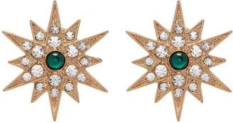 Anton Heunis 'Star' crystal embellished stud earrings