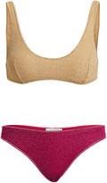 Oseree Lumiere Lurex Bikini Set