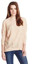 Chaser Women's Lace Long Sleeve Dolman