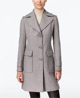 MICHAEL Michael Kors Wool-Blend Three-Button Walker Coat