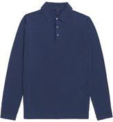 Lardini Long sleeve polo shirt