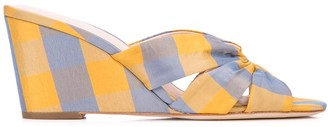 Loeffler Randall Sonya wedge sandals