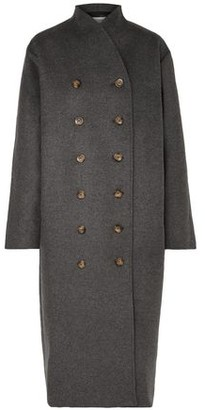 Totême Bergerac Oversized Double-breasted Wool-blend Felt Coat