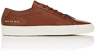 Common Projects Men's Original Achilles Leather Sneakers - Brown
