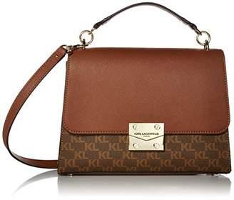 Karl Lagerfeld Paris Corinne Signature TOP Handle Shoulder Bag