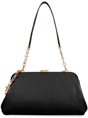 Tory Burch Cleo Leather Shoulder Bag