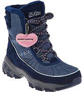Skechers D'Lites Lace-up Faux Fur Winter Boots - Chateau