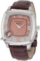 Stuhrling Original Men's 1.773315E+57 Lifestyle Piattino Quadrato Dual-Time Zone Watch