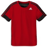 adidas Boys' Crackle Performance Tee - Sizes S-XL