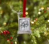 Pottery Barn Personalizable Reindeer Frame Ornament
