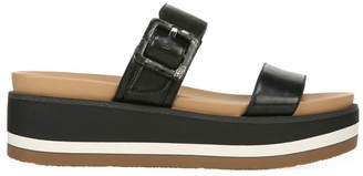 Sam Edelman Agustine Leather Platform Wedge Sandals