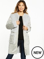 Vila Becka Faux Shearling Coat