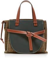 Loewe Gate Tweed Top Handle Bag