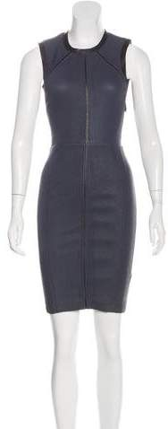 Yigal Azrouel Leather Sheath Dress w/ Tags
