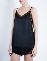 Kiki de Montparnasse Lace Inset stretch-silk and lace camisole