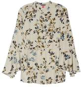Vince Camuto Timeless Bouquet Bell Sleeve Blouse