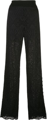 Jonathan Simkhai Layered Lace Trousers