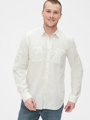 Gap Chambray Shirt in Standard Fit