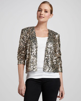 Neiman Marcus Sequined Jacket