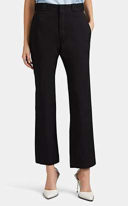 """RE/DONE Women's """"IDGAF"""" Straight Trousers - Black"""