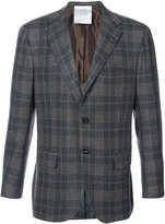 Kiton plaid blazer - men - Cupro/Cashmere - 50