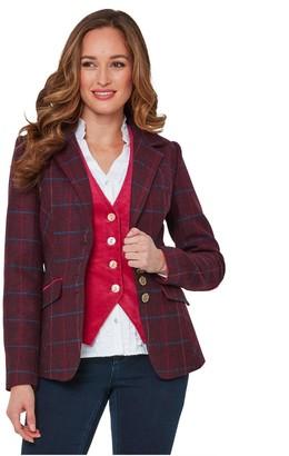 Joe Browns Stunning Check Jacket - Pink