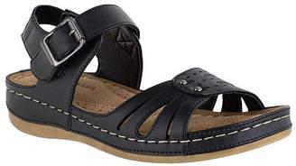 Easy Street Shoes Womens Rosalyn Strap Sandals