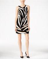 Charter Club Animal-Print Shift Dress, Only at Macy's
