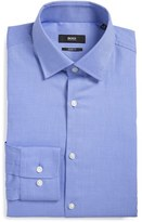BOSS Men's Sharp Fit Solid Dress Shirt