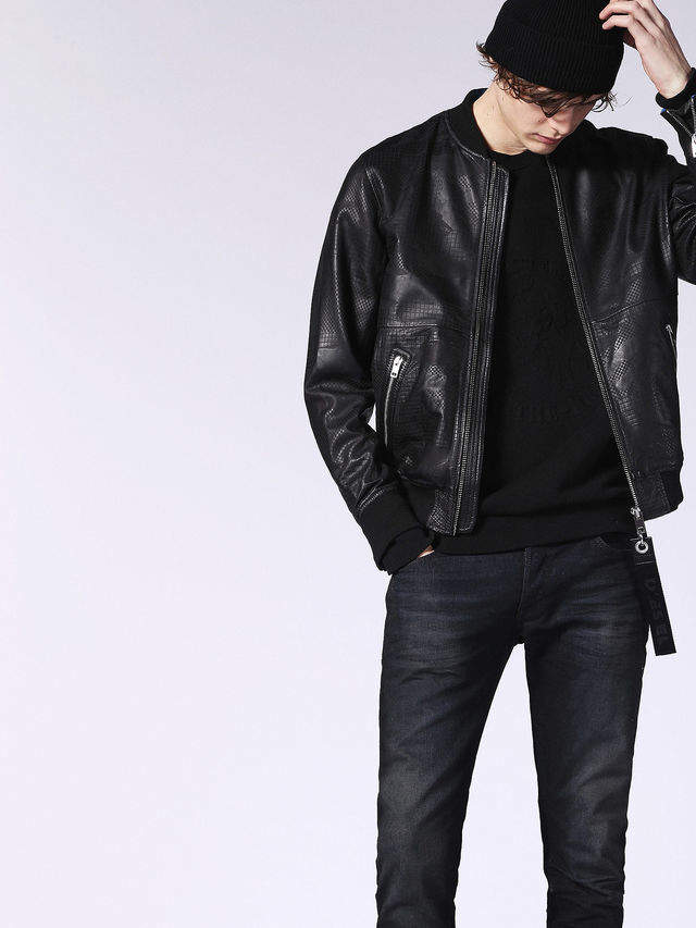 Diesel Leather jackets 0BASC - Black - L