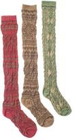 Muk Luks Women's Over the Knee Microfiber Socks (3 Pair)