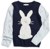 Tucker + Tate Toddler Girl's Intarsia Bunny Sweater