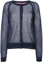 Coohem summer mesh knitted cardigan